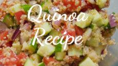 スーパーフード、キヌアのレシピをご紹介。美味しいサラダを作ってみました